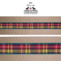 MARTINGALE DOG COLLAR - AUTHENTIC SCOTTISH BUCHANAN TARTAN